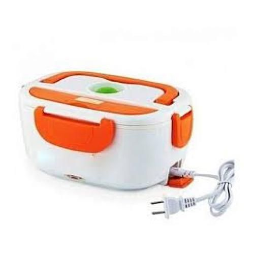 Portable Electric Lunch Box / Food Flask Orange