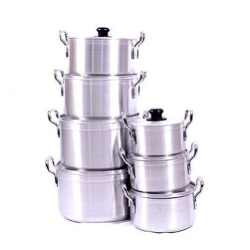 Aluminium Cookware Set - 7 Pieces