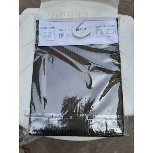 Antifungal Cotton Shower Curtain