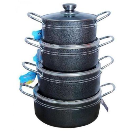 Non-Stick Pots - 4 Sets