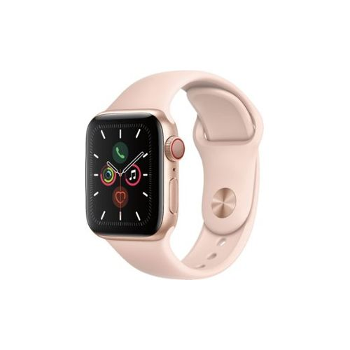 Watch Series 5 (GPS + Cellular) 40mm With Pink Sand Sport Band - Gold Aluminum