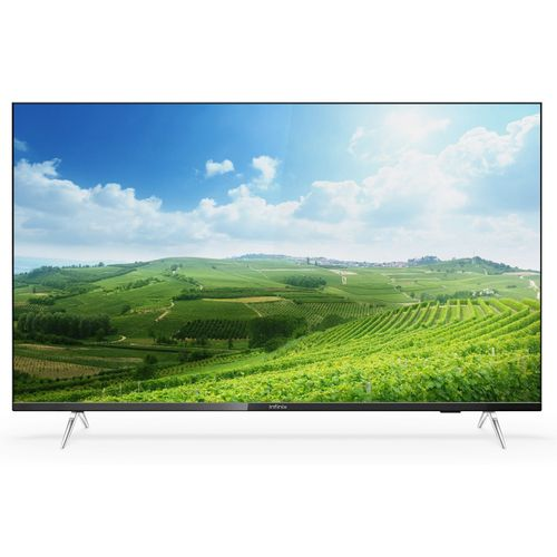 """55"""" Inch 4K Ultra-HD Smart LED TV (with 2 Years Official Warranty) - Black"""