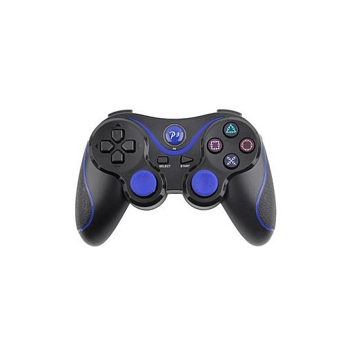 Bluetooth Wireless Joystick Pad Game Console Controller For Playstation PS3 -blue