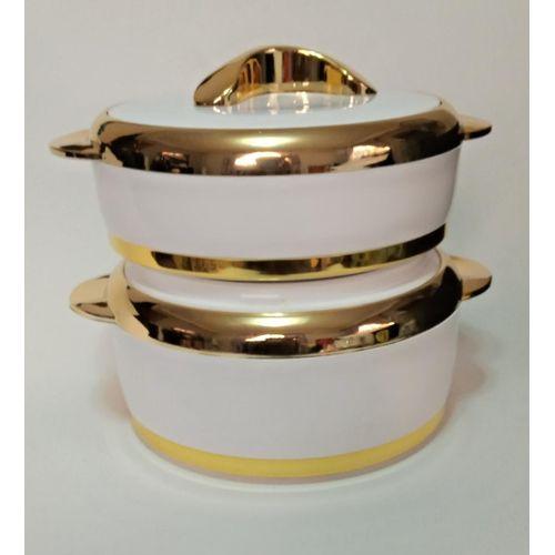 2Pcs Insulated Hot Pot (Food Flask/Warmer)