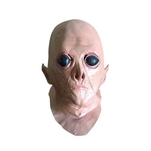 Realistic UFO Alien Mask Halloween Decoration Creepy Latex