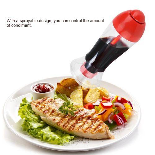 Leakage-proof Oil Spray Bottle Vinegar Sprayer Cruet For Kitchen Barbecue
