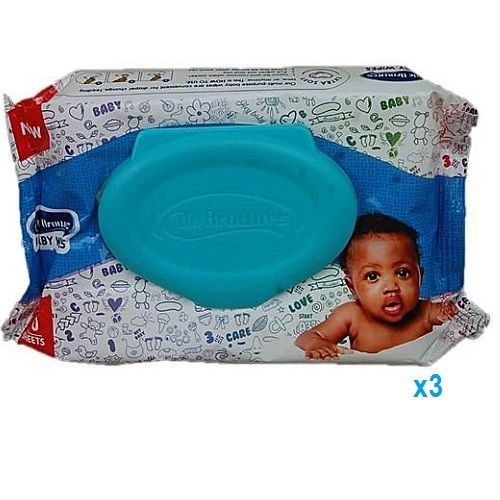 Baby Wipes 50 Counts X 6 - 600 SHEETS
