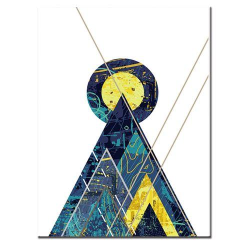 Diy Diamonds Full Of Geometry P392 Embroidered Fashion