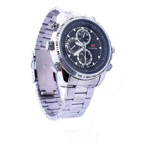 Camera Wrist Watch(Silver)