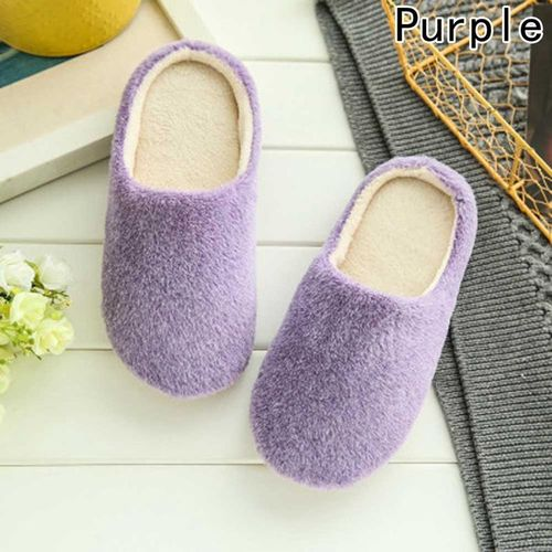 Eleganya Funny Cute Cotton Slippers Womens Girls Indoor Home Winter Warm Slippers