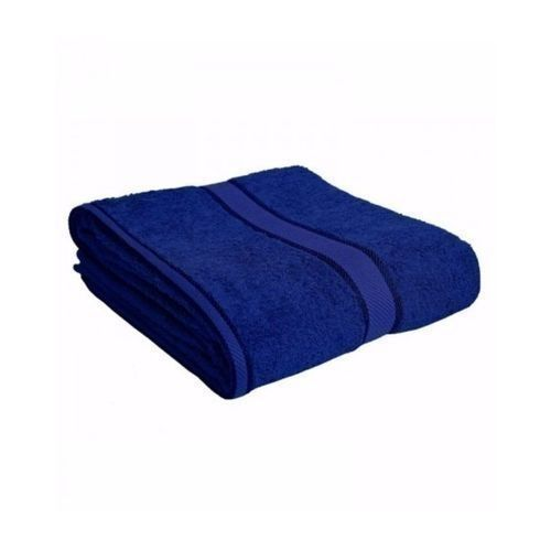 High Absorbency Cotton Towel - Blue - LARGE