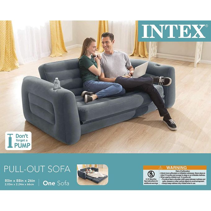 Intex Inflatable Queen Size Pull Out, Intex Pull Out Sofa