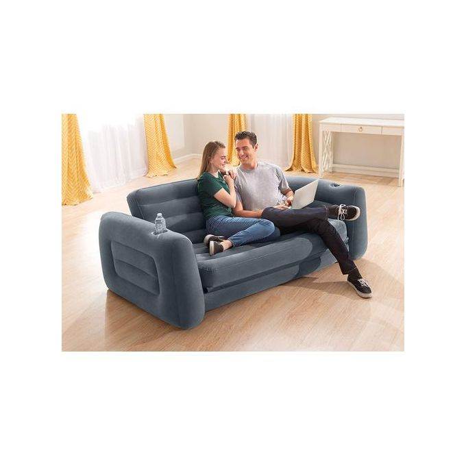 Intex Inflatable Pull Out Sofa Bed, Intex Pull Out Sofa