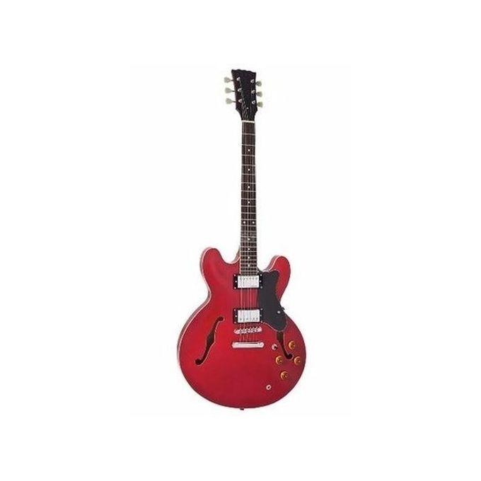 Ultimate Professional Jazz Semi Acoustic Guitar Vintage Red Jumia Nigeria
