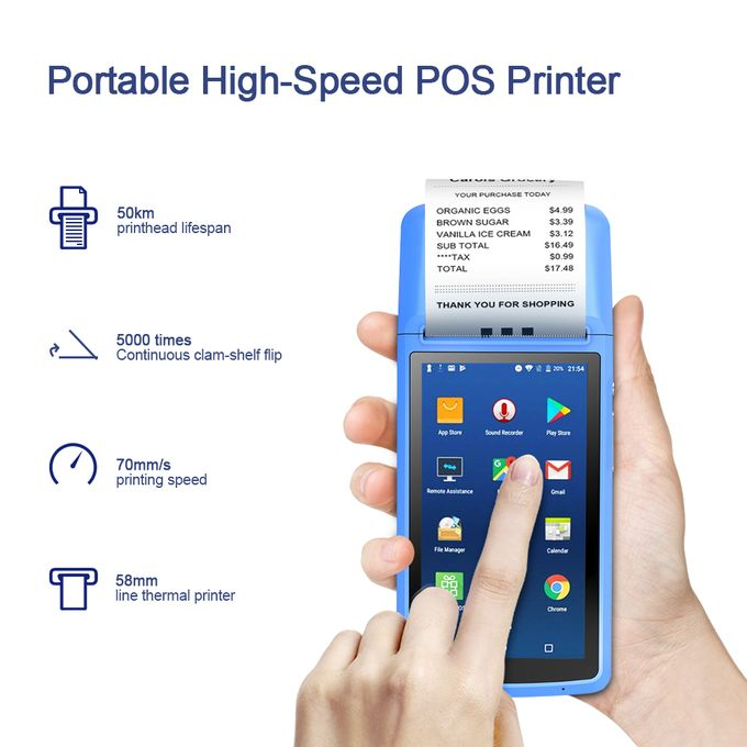 product_image_name-Generic-MHT-M1 POS Terminal Support Android 6.0 OS Receipt Printer-3