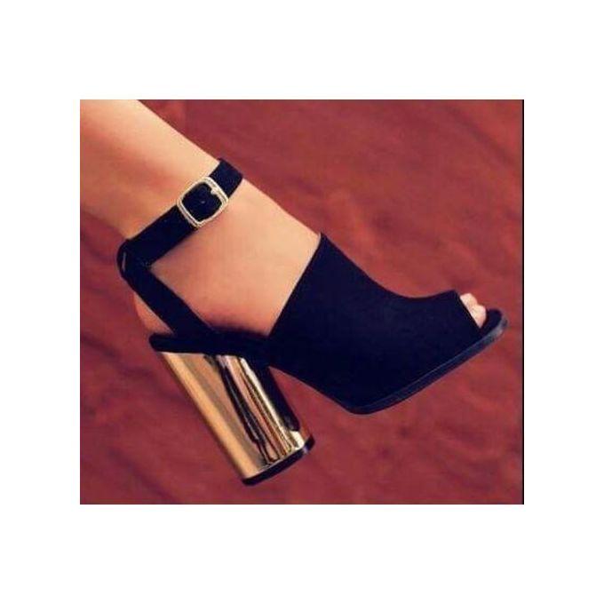 Fashion Women Platform High Heel Shoes Escarpin Party