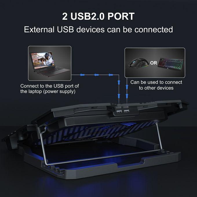 Topmate Topmate C5 Gaming Laptop Cooler Cooling Pad Jumia Nigeria