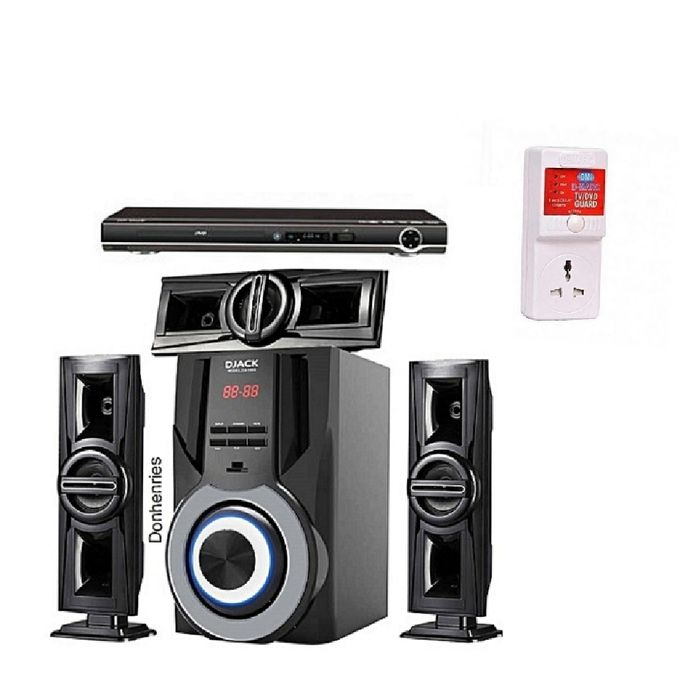 product_image_name-Djack-Powerful 3.1CH Bluetooth Home Theatre Sound System DJ-1003 + DVD Player+power Surge-1
