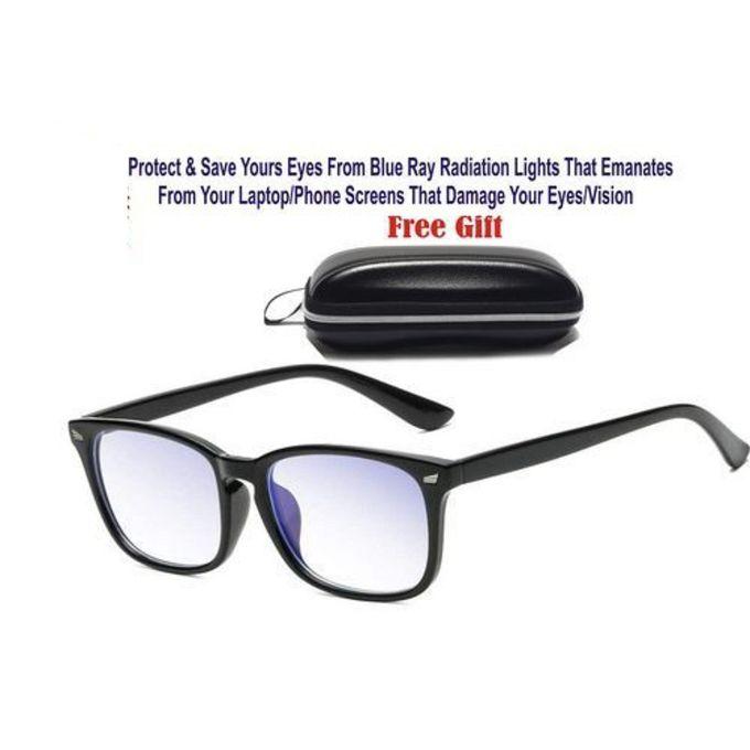 Generic Unisex Blue Light Blocking Glasses For Computer Use Anti Eyestrain Uv Filter Lens Lightweight Frame Eyeglasses Black Jumia Nigeria