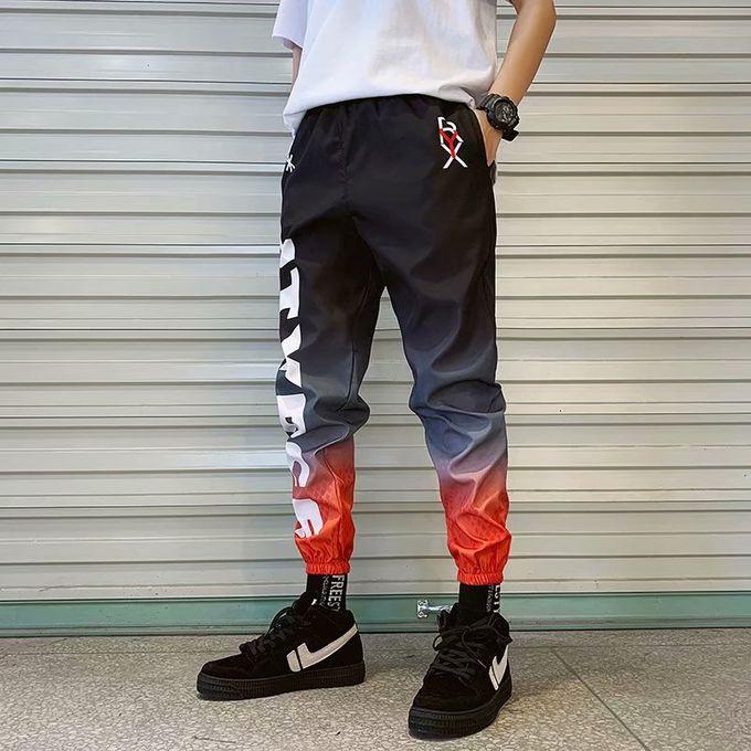 Fashion Ins Men's Pants Men Casual Men Cargo Pants Leg Pants Baggy Harem  Pants Ninth Pants | Jumia Nigeria