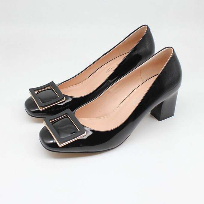 Fashion Womens Patent Work Shoes With