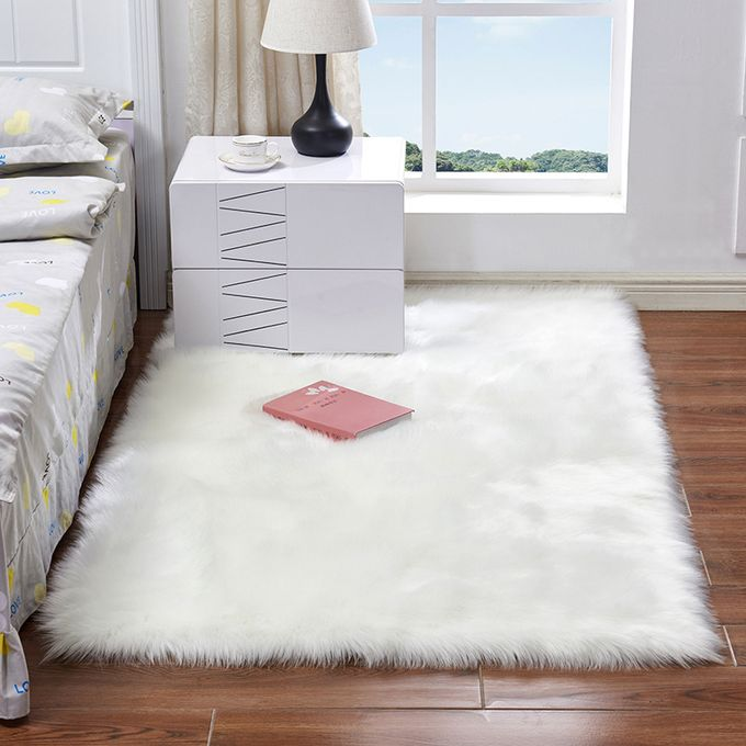 Generic Washable Fur Wool Carpet Rug Chair Seat Cover Mat Home Decor Jumia Nigeria