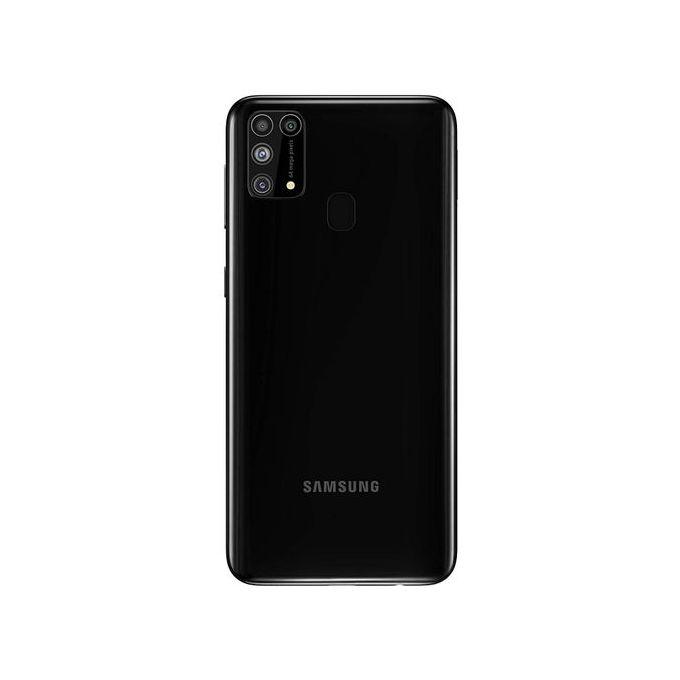 "product_image_name-Samsung-Galaxy M31 (SM-M315F/DS) Dual SIM (128GB ROM, 6GB RAM)- 6.4""- (64MP+8MP+5MP+5MP) + 32MP Camera- 6000mAh- Black.-2"