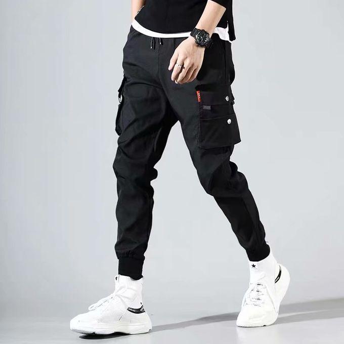 Fashion Men's Pants Casual Men Cargo Pants Leg Pants Ninth Pants | Jumia  Nigeria