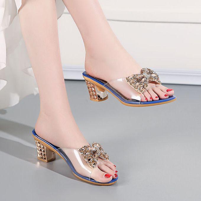 Fashion Women Lovely Low Heel Slippers