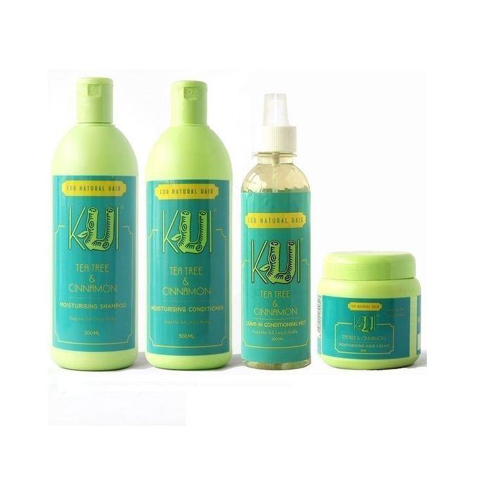 Kui Tea And Cinnamon Moisturizing Shampoo Conditioner Leave In Mist Hair Cream Hair Care Bundle For Natural Hair All Hair Types Jumia Nigeria
