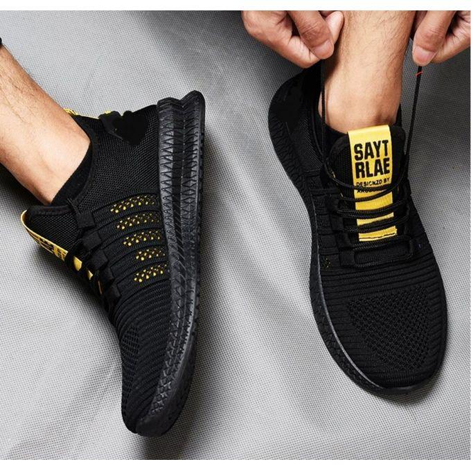 Fashion nle Unisex Sneakers-Black Yellow | Jumia Nigeria
