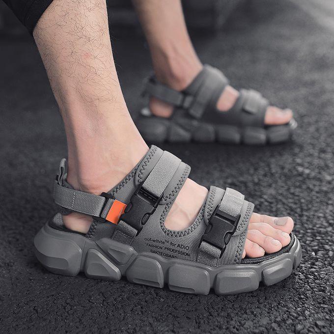 Fashion Men's Fashion Platform Slippers