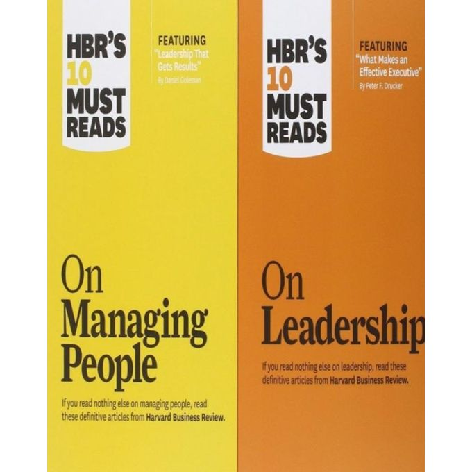 Jumia Books Hbr S 10 Must Reads On Managing People And Hbr S 10 Must Reads On Leadership Jumia Nigeria