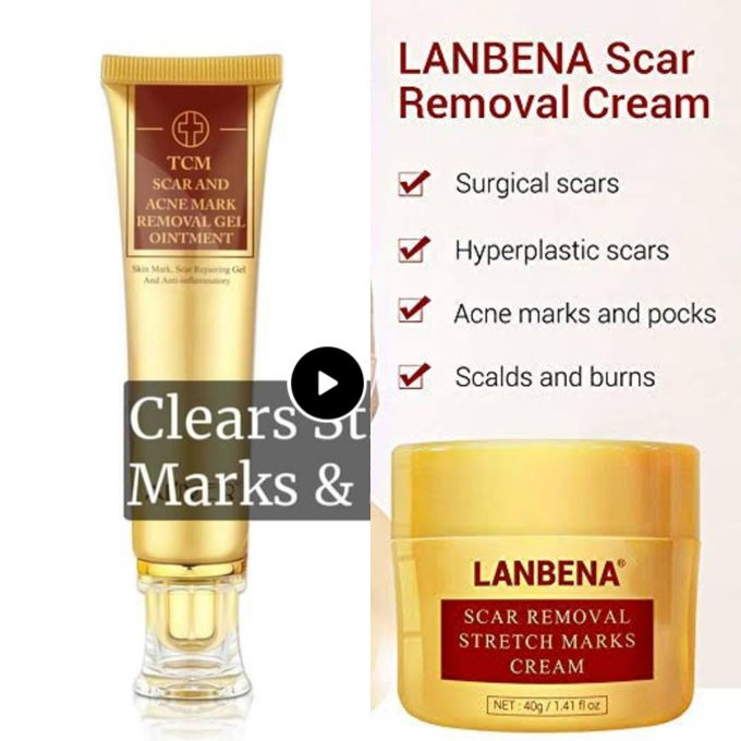 Lanbena 2 In 1 Stretch Marks Scar Removal Cream Jumia Nigeria