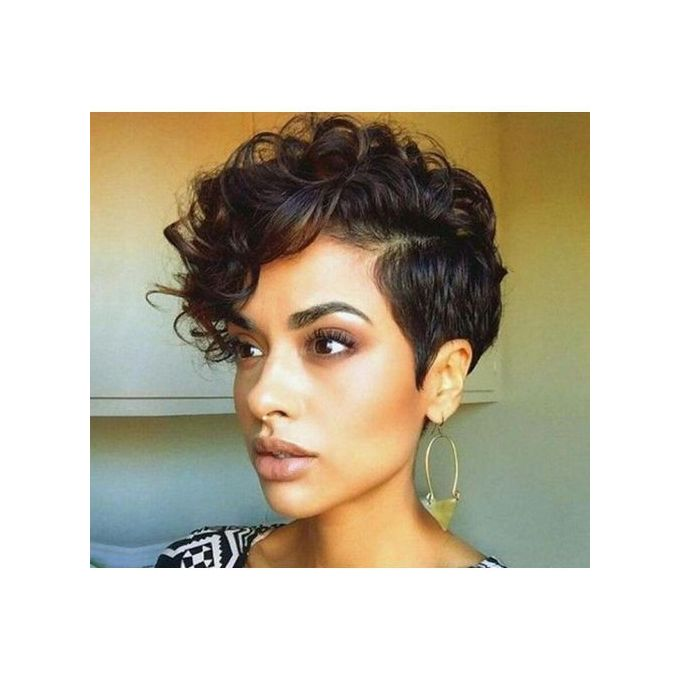 Generic Side Part Short Curly Hair Wig For Women Jumia Nigeria