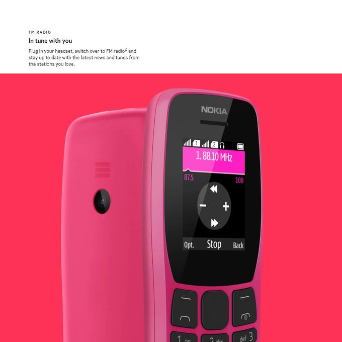 product_image_name-Nokia-Nokia 110 2G GSM Feature Phone Dual SIM 32MB 1.77inch FM-8