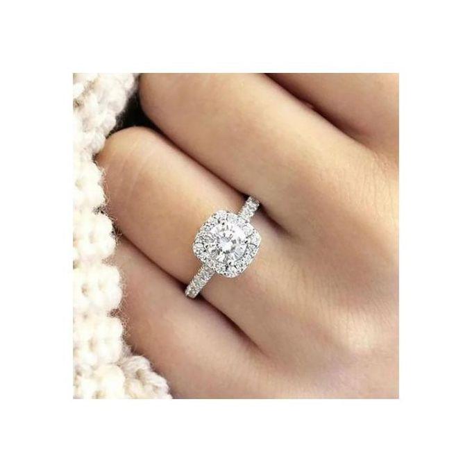 Fashion Diamond Engagement Ring For Women   Jumia Nigeria