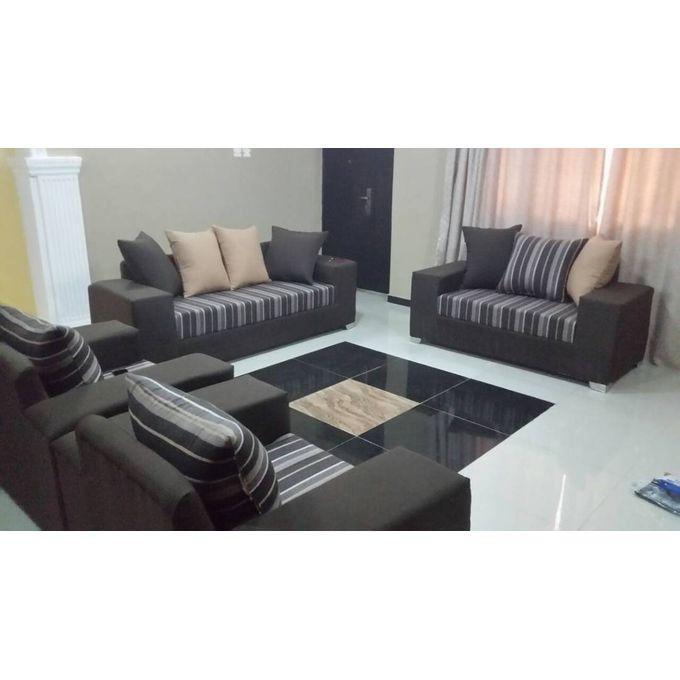 Generic 7 Seater Fabric Sofa Settee