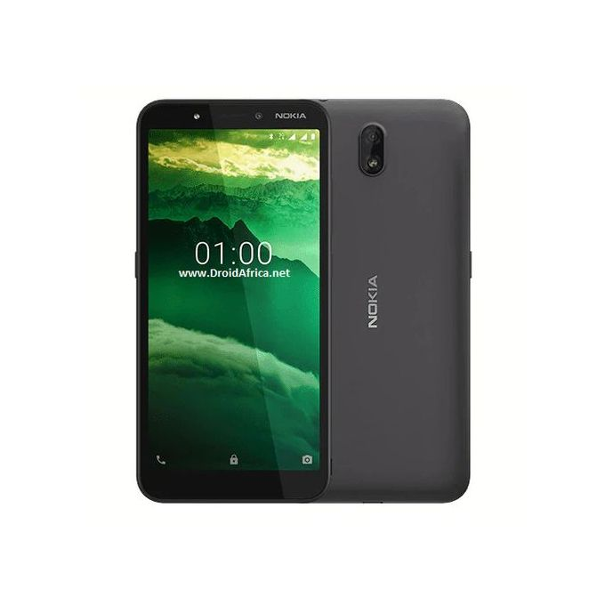 "product_image_name-Nokia-C1 5.45"" 1GB 16GB Android 9.0 Pie 5+5 Mp 2500 MAh - Charcoal-1"