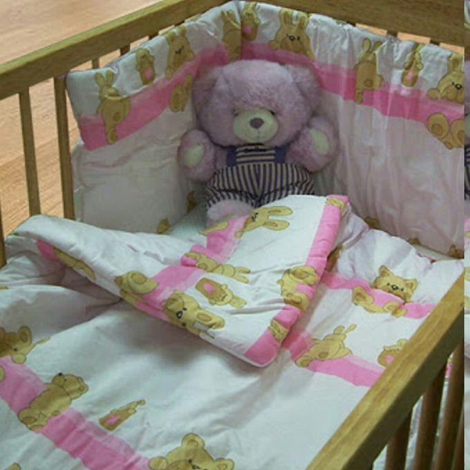 Junior Joy Cot Cotton Duvet Cover Pink