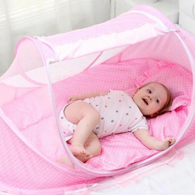 Happy Baby Happy Baby Foldable Baby Crib With Net Jumia Nigeria