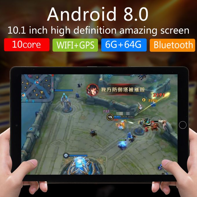 Tablet 10 1-inch ( 4GB,64GB ROM) Android 7 0 8MP+2MP Tablet-Black