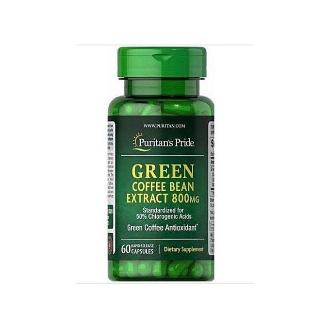 Puritan S Pride Green Coffee Bean Extract For Weight Loss 800mg