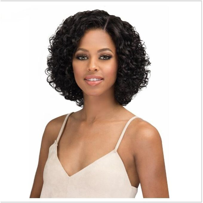 Generic Black Partial Short Curly Hair Ladies Wig Jumia Nigeria