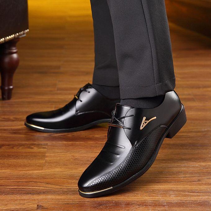 Fashion Fashion Man Pointed Toe Formal Wedding Shoes