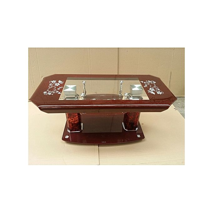 Generic Tempered Glass Center Coffee Table Lagos Only Jumia