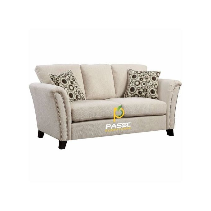 Corner Unit Two Seater Exotic Couch + A Free Throw Pillow (Delivery Only To  Lagos Residence)