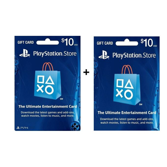 Playstation Psn Store 20 Gift Card For Ps3 Ps4 Psvita Jumia Nigeria