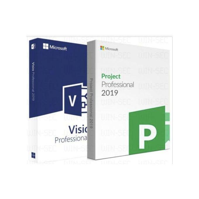 Microsoft Project 2019 Professional Visio 2019 Pro Download Instant Delivery Jumia Nigeria