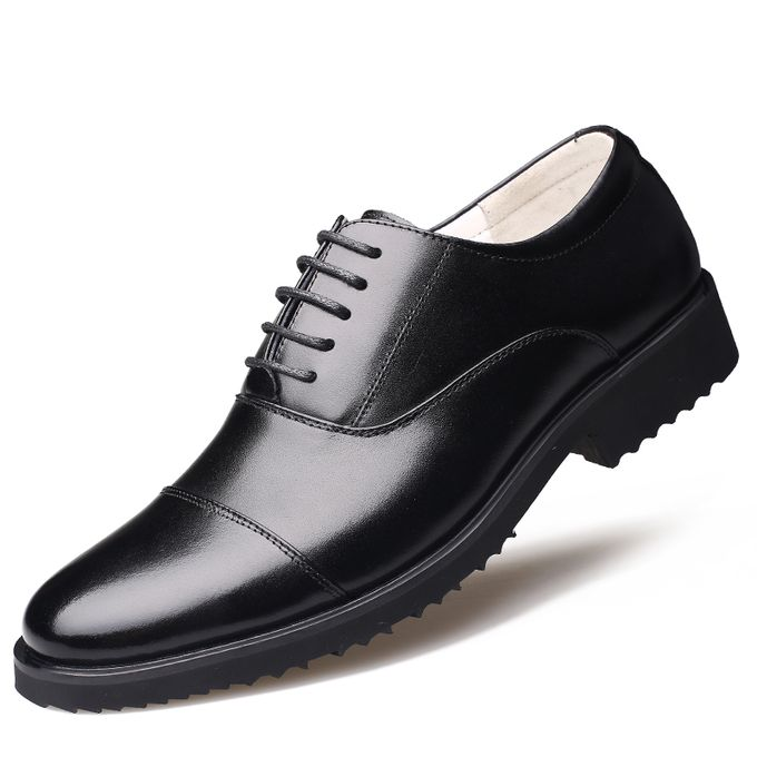 2019 Leather Shoes Large Size Office Formal Genuine Men S Business New Design